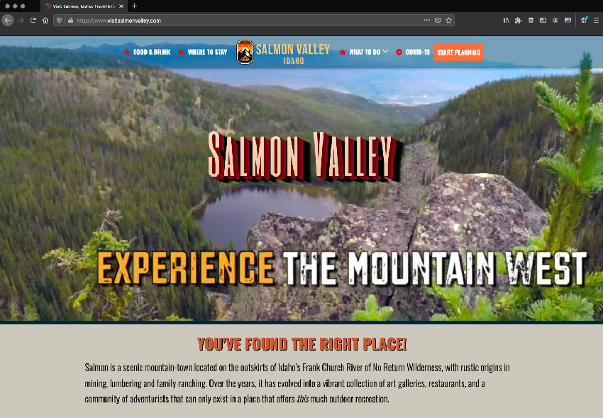 Visit Salmon Valley
